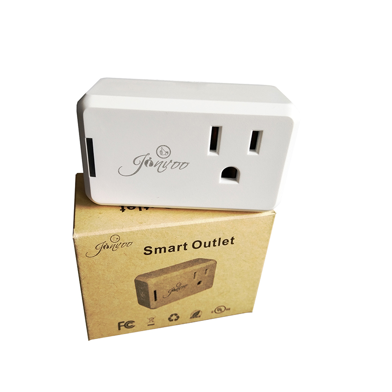Jinvoo Smart Plug Mini,Smart home outlet,No Hub Required,Wi