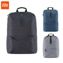 2017 Новый Xiaomi модный школьный рюкзак сумка 600D полиэстер прочный водонепроницаемый открытый костюм для 15,6 дюймов ноутбук компьютер