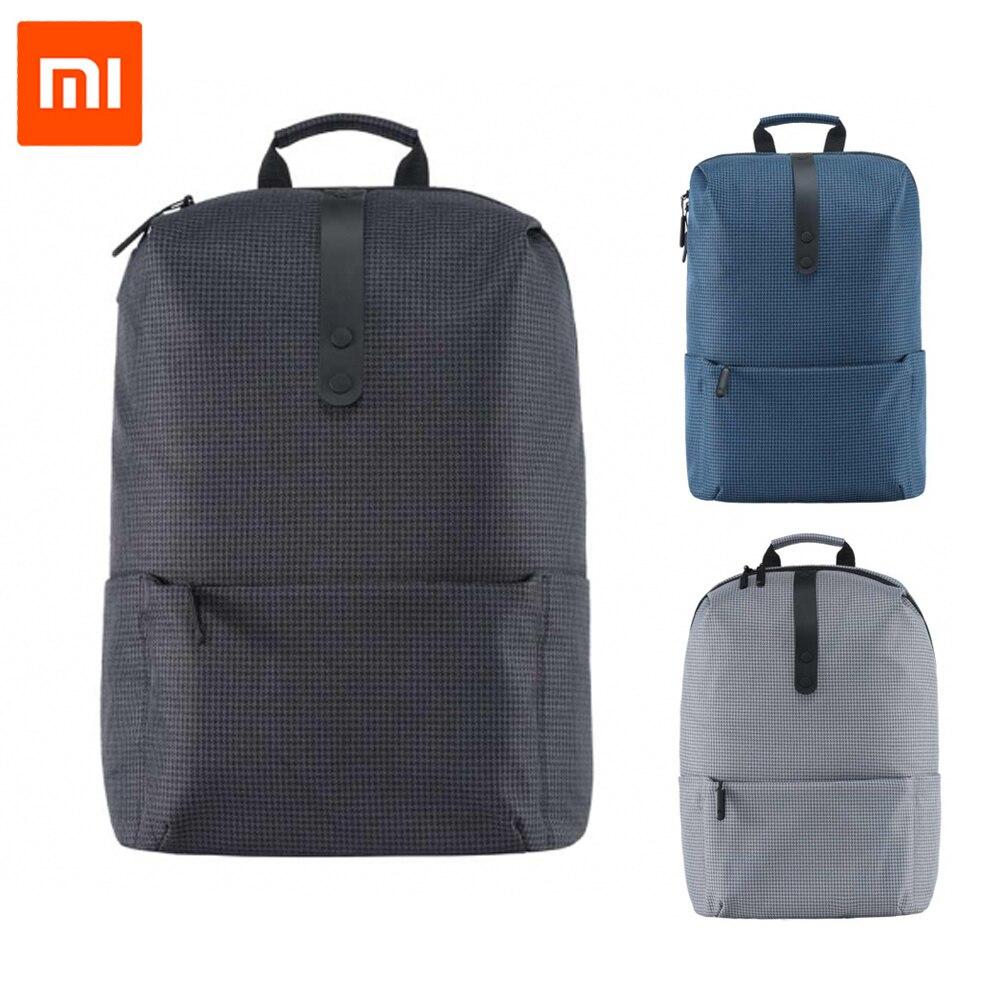 Ehrlich 2017 Neue Xiaomi Mode Schule Rucksack Tasche 600d Polyester Durable Wasserdichten Outdoor-anzug Für 15,6 Zoll Laptop Computer Unterhaltungselektronik