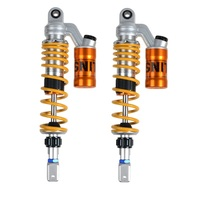 Universal Modified Motorcycle Rear Shock Absorber Suspension 320mm 360mm Rebound Damping Adjusted For Yamaha Honde Suzuki