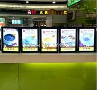 Acrylic Menu Board,Restaurant Advertising Led Lightbox a3