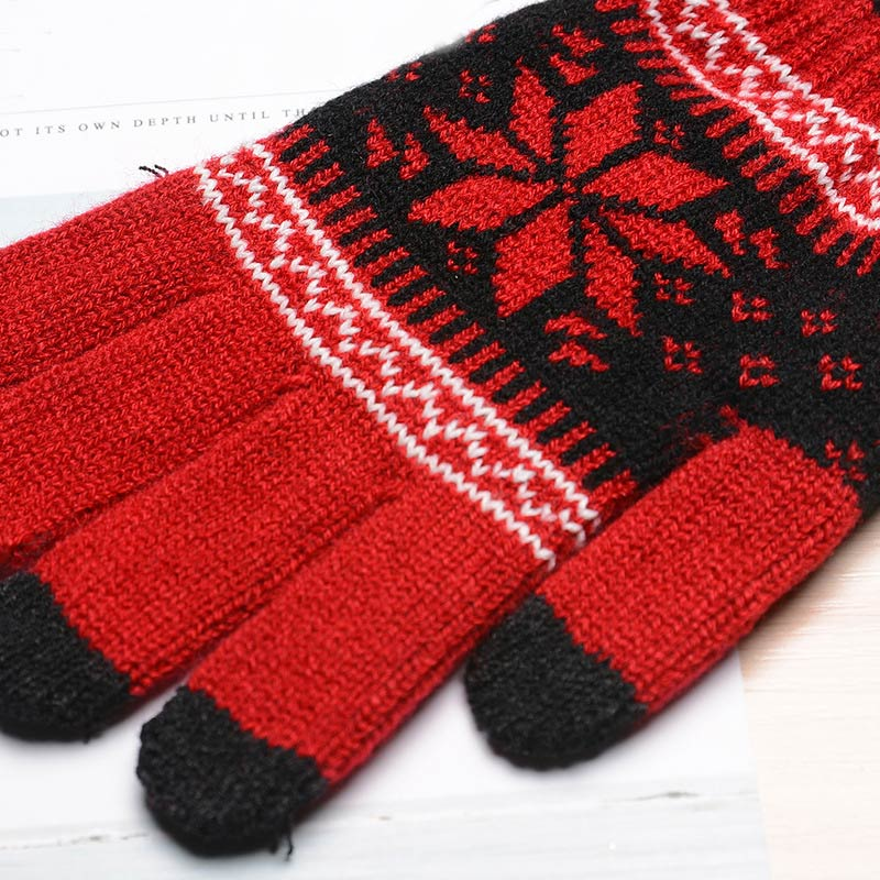 Fashion Winter Men Women Knitted Gloves Keep Warm Fitness Touchable Screen Glove For Mobile Phone iPad Tablet OPK in Men 39 s Gloves from Apparel Accessories