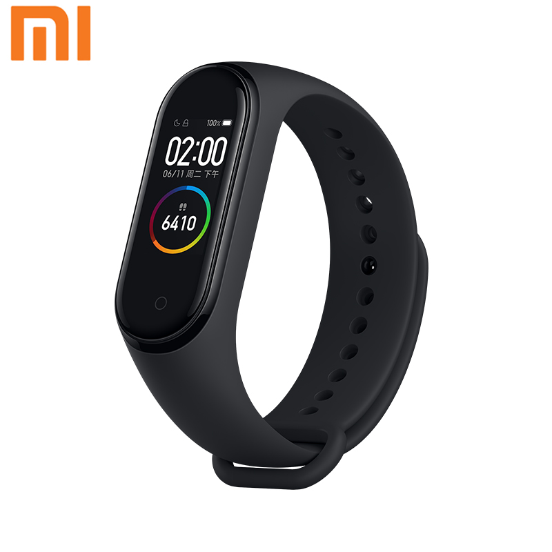 Xiaomi Mi Band 4 Original 2019 Newest Music Smart Miband 4 Bracelet Heart Rate Fitness 135mAh Color Screen Bluetooth 5 0
