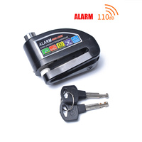 Universal Motorcycle Anti theft Alarm Lock Disc Brake lock Outdoor Bicycle Accessories
