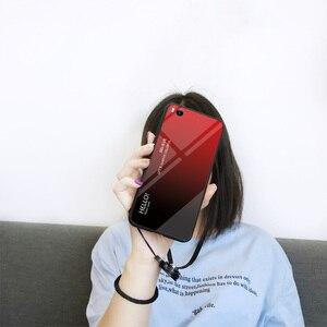 Image 2 - Cho xiaomi mi 5 S Trường Hợp Thời Trang Cứng Tempered Glass Sang Trọng Gradient Bảo Vệ Cover Quay Lại trường hợp Cho xiaomi mi 5 s mi 5 s đầy đủ bìa shell