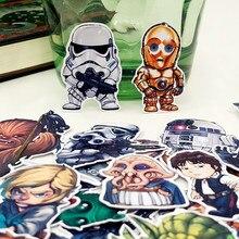 35 шт./пакет мультяшным принтом «Star Wars» альбом водонепроницаемый декоративные наклейки DIY ручной работы подарок Скрапбукинг стикер