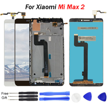 For XIAOMI MI MAX 2 LCD Touch Screen 6.441920x1080 IPS LCD Display Digitizer with Frame Replacement Parts for Max2 Mi Max 2 LCD 5d10m42869 b140han04 2 ips matte antiglare 1920x1080 fhd matrix for laptop 14 0 lcd screen led display replacement