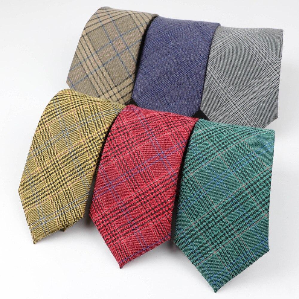 Fashion Men's Colourful Tie Business Suit Ties Striped Necktie Narrow Slim 7cm Width Cravate Narrow Thick Neckties