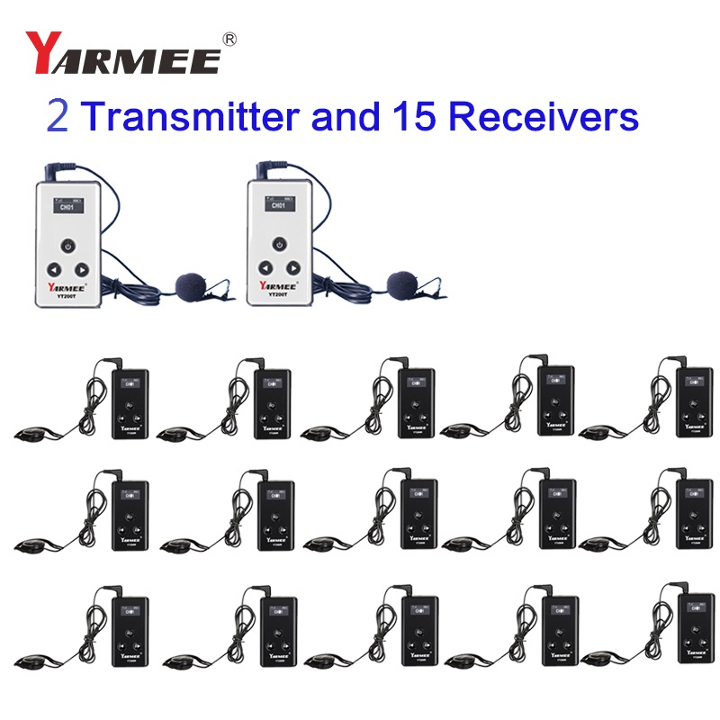 Wireless  Tour Guide System YT200 YARMEE  For Museum Tour Guiding ,simultaneous Interpreter,wireless Meeting