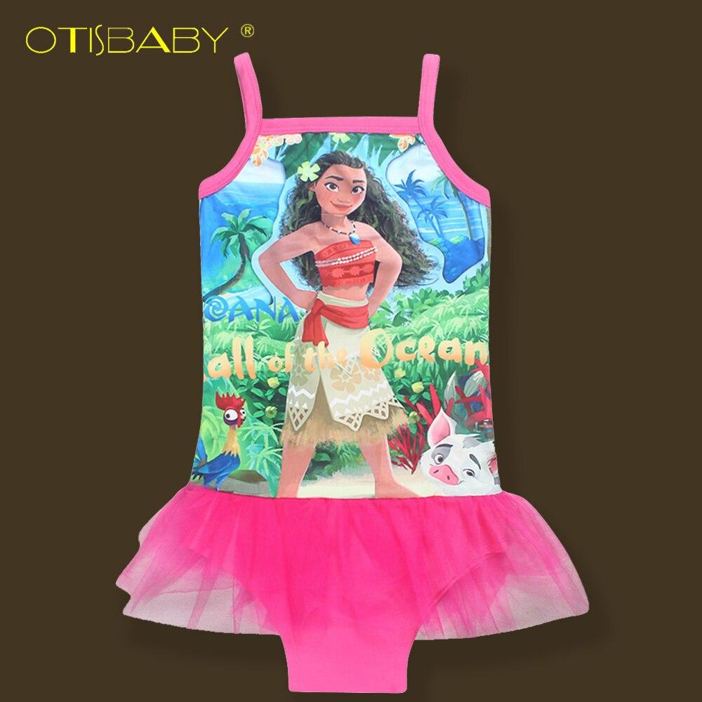 Dreamworks Girls Princess Trolls Poppy Bodysuit Bikini Kids Magic One PieceChildren Girl Tutu Halter Dress Beachwear Clothing