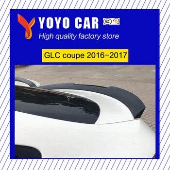 Offre spéciale ABS noir argent rouge couleur voiture lèvre arrière spoiler pour GLC Coupe GLC200 GLC300 GLC260 2016 2017