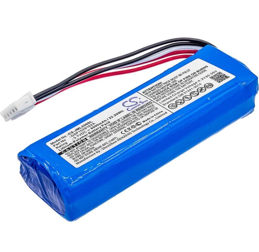 Cameron sino 6000mah bateria para jbl carga 3 gsp1029102a baterias