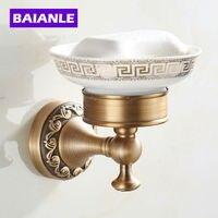 NEW Arrival Fashion Antique Copper Finish Brass Soap Basket Soap Dish Soap Holder Bathroom Accessories