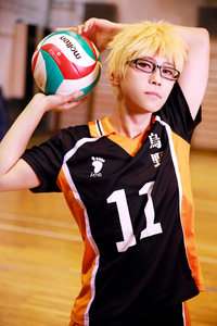 Image 4 - Haikyuu Cosplay Costume Karasuno High School Volleyball Club Hinata Shoyo Sportswear Jersey Uniform