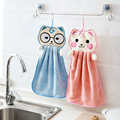 Hand Handtücher für Baby Bad Hand Trockenen Handtuch Kinder Kinder Mikrofaser Handtuch für Küche Quick-trocknen Hängen Hand Handtücher cartoon
