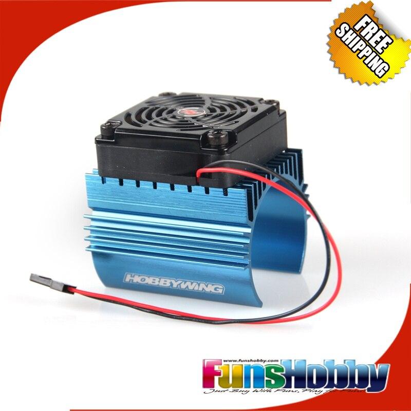 Hobbywing Motor Radiateur Heart Sink Ventilateur 5V Adapt/é 4465 moteurs pour voiture 1//8 RC