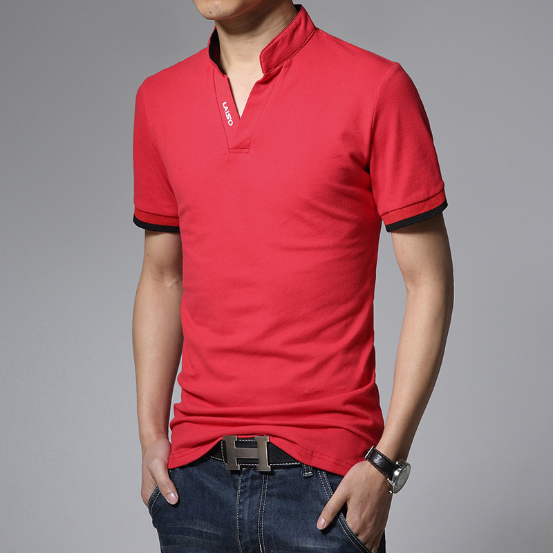 Legible Men's Polo Shirt High Quality Solid Men Cotton Short Sleeve shirt Brands Summer Camisas polo Shirts Men 4XL 5XL