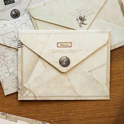 12 шт./компл. Винтаж небольшой мини крафт бумага окна конверты свадебные приглашения конверт подарок 72*95 мм