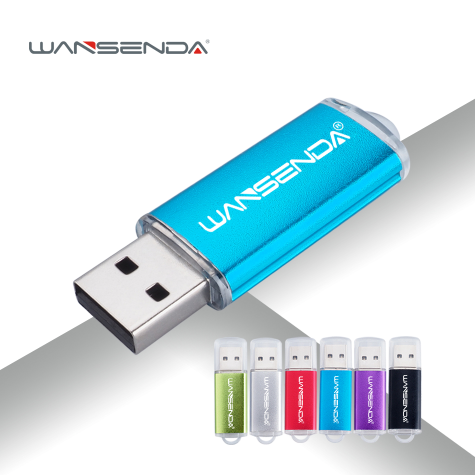 Full Capacity USB Flash Drive Metal Pen Drive USB 64 gb ...