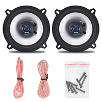 5 Pairs 10Pcs Lot LB PS1502T 5 Inch Automobile Coaxial Speaker Low Pitch Music Sensitivity Car
