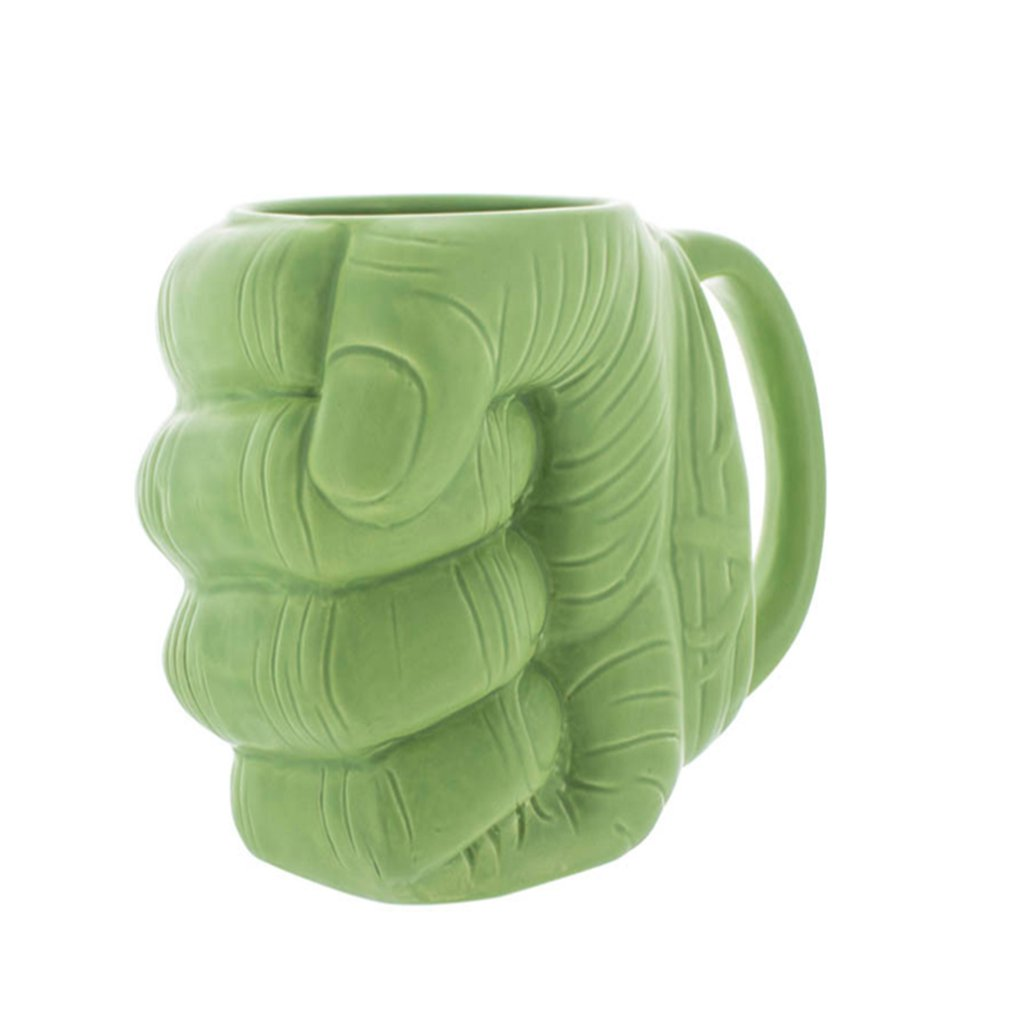 Coffee Mug Cup Ceramic-Cup Hulk Creative Gift Fist Home Grip-Box Necessities Daily