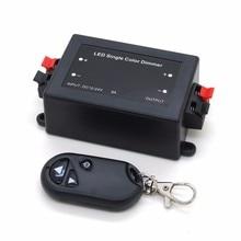 LED Single Color Dimmer 3 Key RF Remote Control Wireless LED Controller 12V 24V DC 8A host of remote controller remote master for qn h618 wireless rf remote controller h618 auto key maker programmer