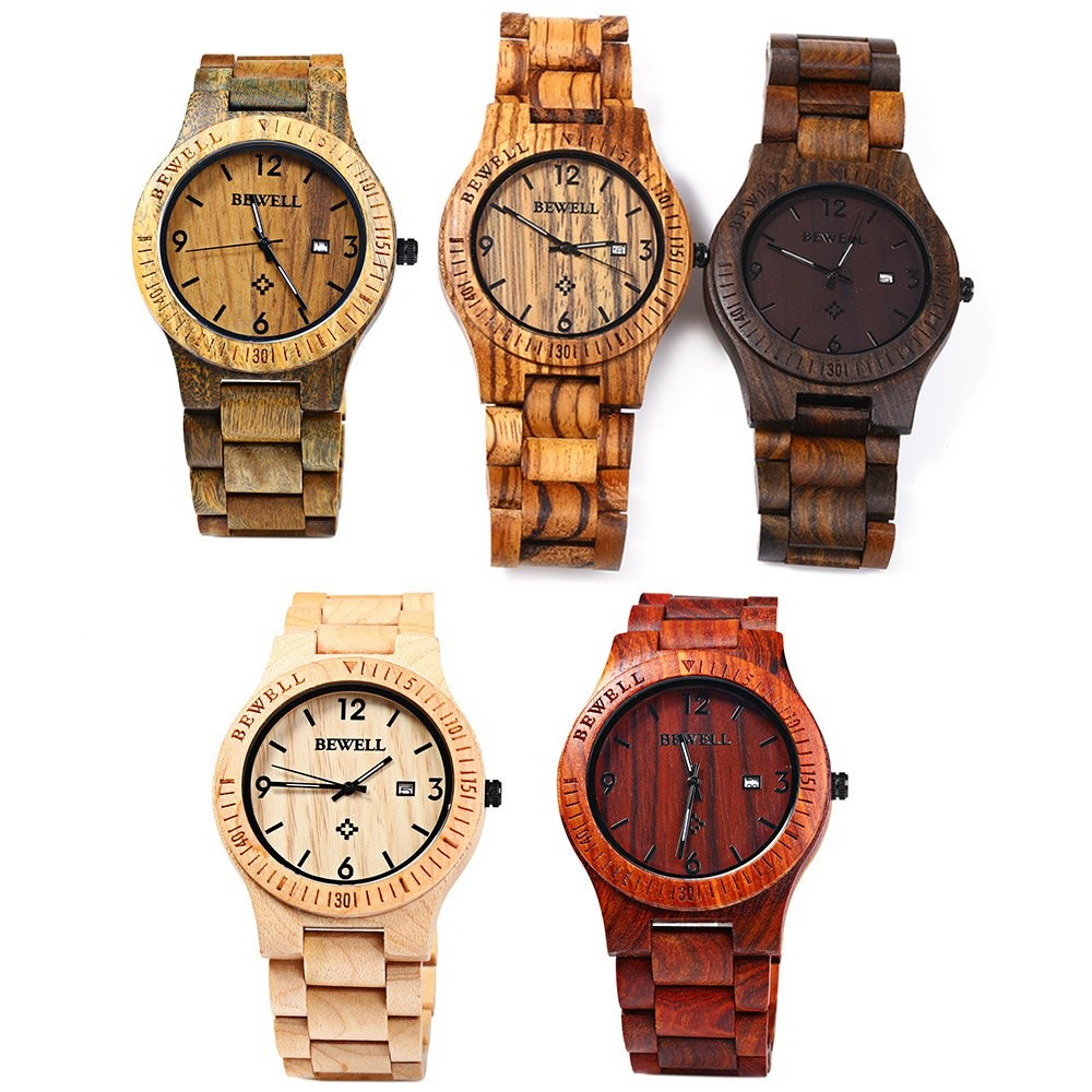 watch black maple grain steel classic the matte watches original wood wrist inlay maplewood