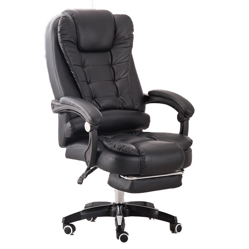 High Quality Tps-906 Boss Poltrona Chair Synthetic Leather Wheel With Footrest 7 Point Massage Office Furniture Silla Gamer