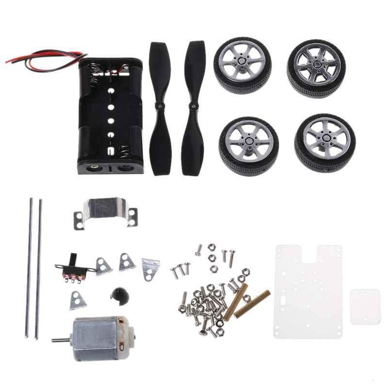 130 brosse moteur Mini éolienne bricolage voiture Kit éducatif enfants jouet voiture moteur Kits