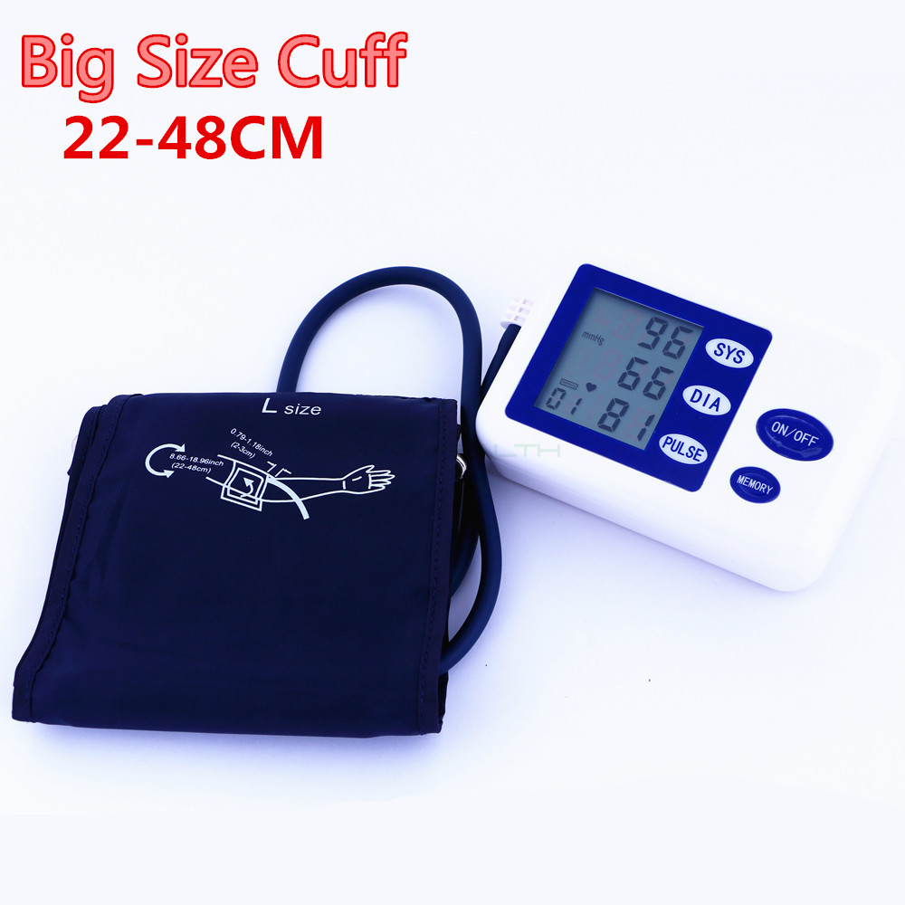 Big Arm L Cuff Size Household Arm Blood Pressure Monitor blood pressure meter blood pressure table blood pressure instruments