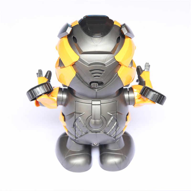 Navio da gota ligação Dança Homem De Ferro Figura de Ação Brinquedo Lanterna LED com Som Avengers Iron Man Herói Brinquedo Eletrônico