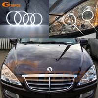 For Ssangyong Kyron 2005 2014 Excellent angel eyes Ultra bright headlight illumination CCFL Angel Eyes kit Halo Ring