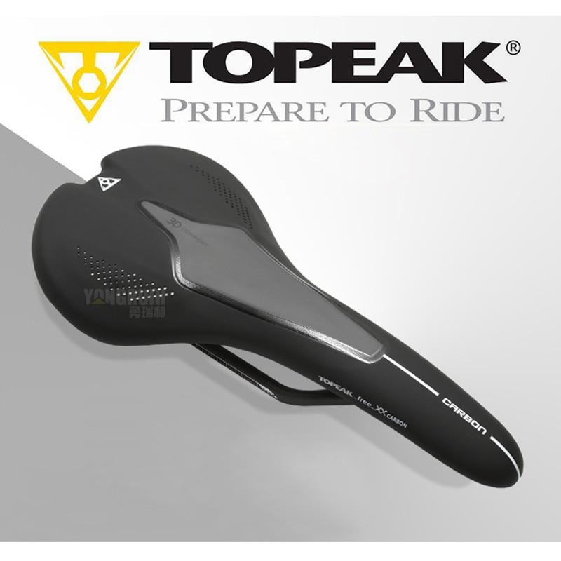 Topeak selle de vélo de route vtt VTT sièges de selle hommes Momen pièces de cyclisme Superfine Fiber/TPU selle de vélo coussin de vélo