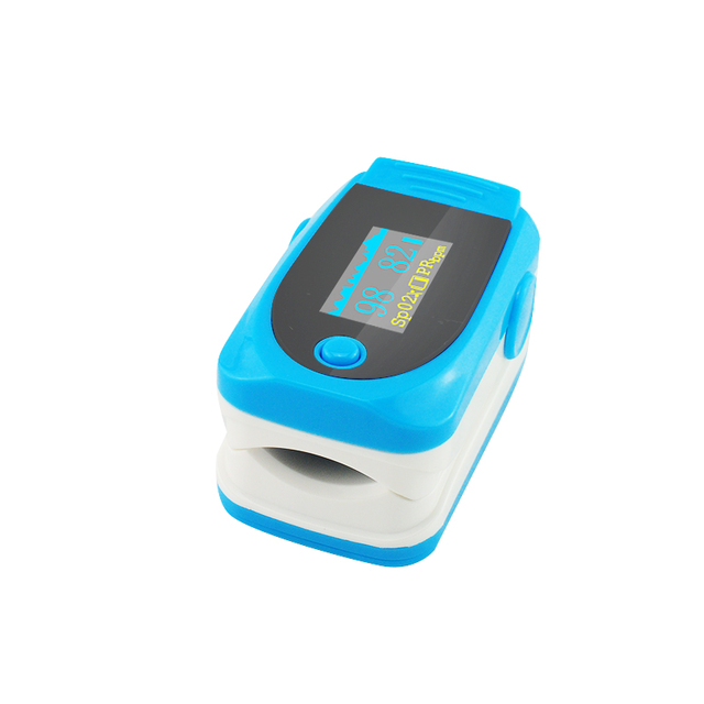 New Color OLED Fingertip Pulse Oximeter With Audio Alarm & Pulse Sound - Spo2 Monitor Finger Puls Oximeter 200164