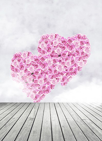 600Cm*300Cm Background Rose Heart Love Photography Backdropsthick Cloth Photography Backdrop 3208 Lk  Valentine'S Day 600cm 300cm backgroundsgloves dry lake photography backdropsvinyl photography backdrop 3460 lk valentine s day