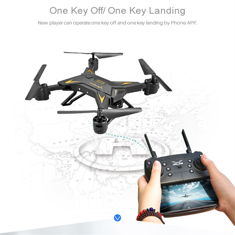 New RC Drone with Camera 4K Selfie Drones with 16MP Camera HD Foldable Quadcopter Quadrocopter with Camera Fly 18 Mins VS E58 3