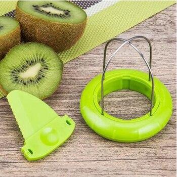 Hot Sale Mini Fruit Kiwi Cutter Peeler Slicer Kitchen Gadgets Tools Kiwi peeling tools For Pitaya Green 29 3