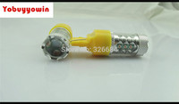 Frete Grátis 2 pcs 800 Lumens Cree Brilhante Chipsets T20 7440 7441 7443 7444 992 Lâmpadas LED Para Sinal de Volta, âmbar Amarelo