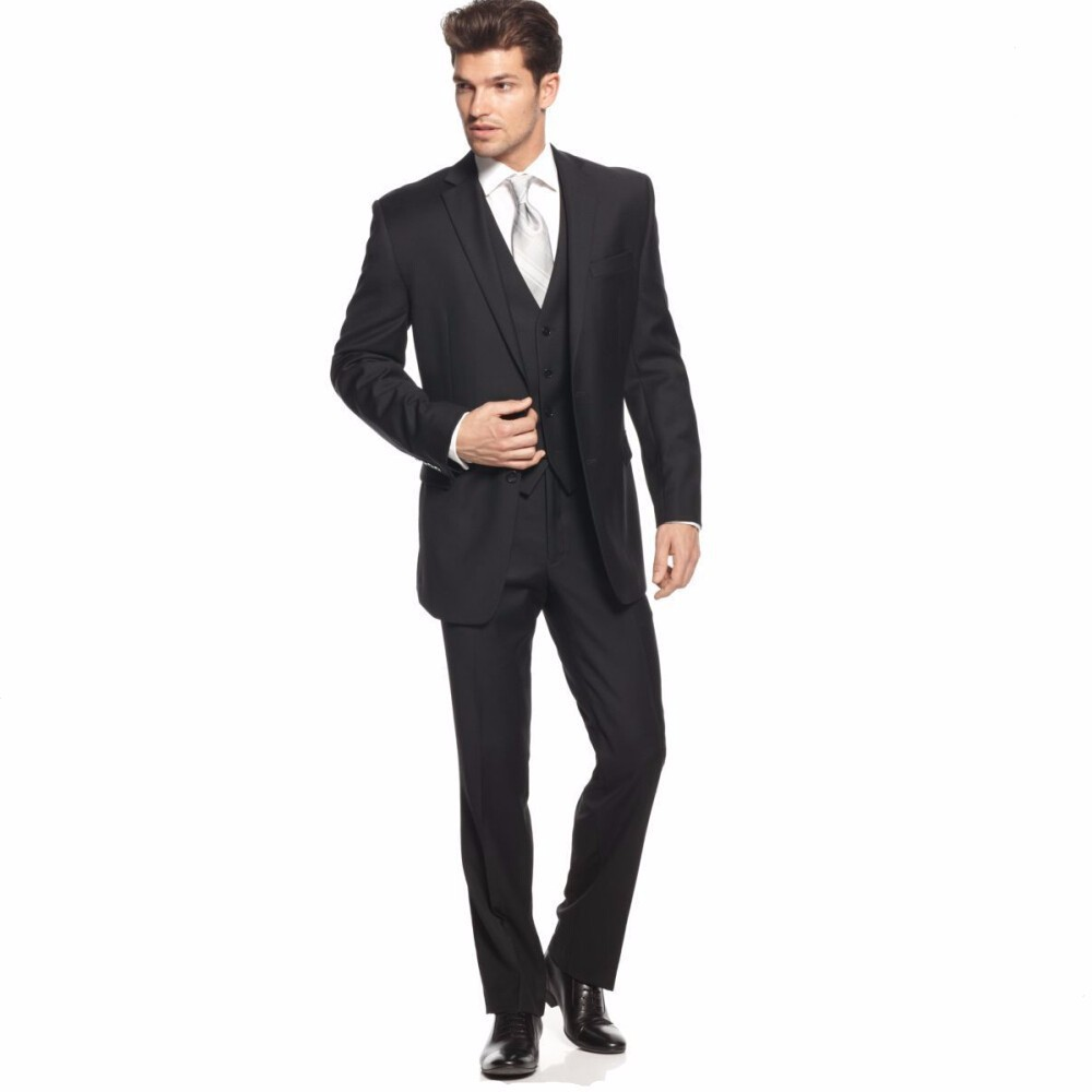 Top Selling Black Men Tuxedo Handsome Groom Tuxedos Coat ...