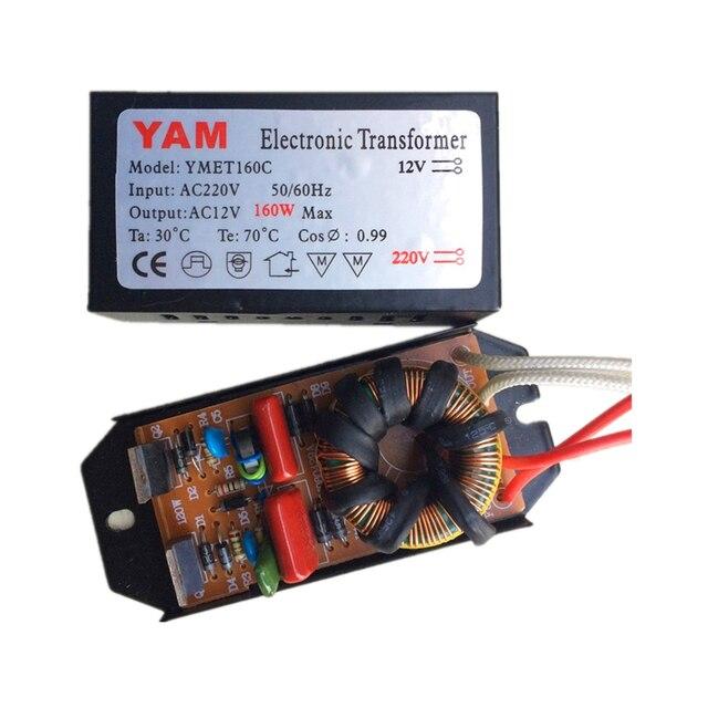 Yam 160 W Ac220v A Ac12v Transformateur Electronique Pour G4 Quartz