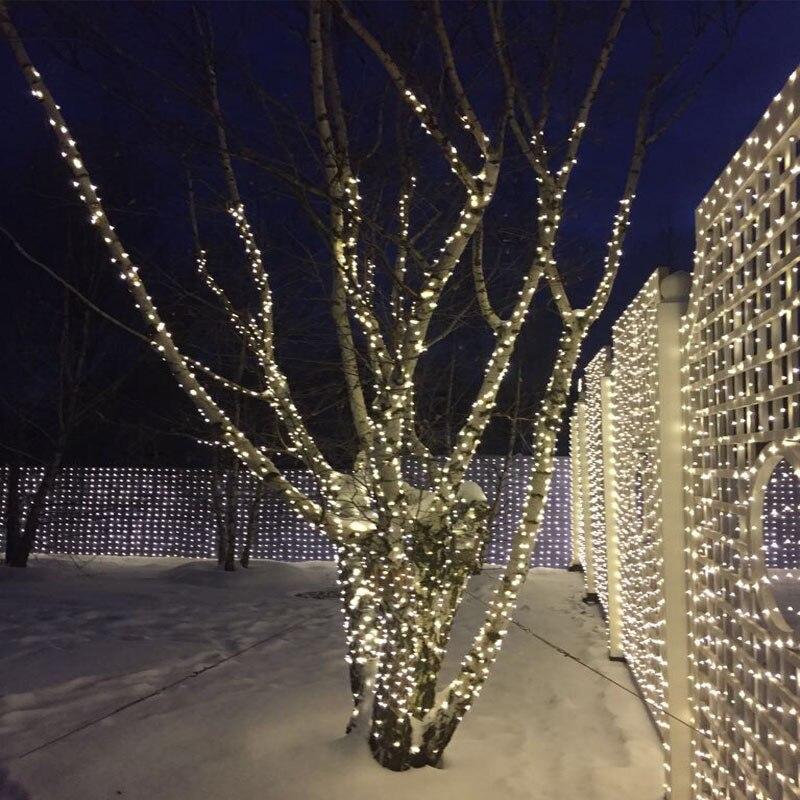 33Ft 100 LED Bakır Tel dize ışıkları LED Peri Işıklar Açık - Şenlikli Aydınlatma - Fotoğraf 2