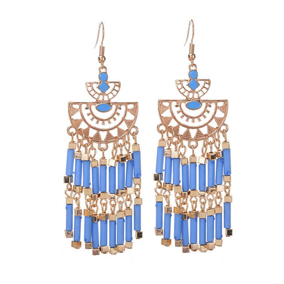 Boho design glass tubes chandelier fashion earring for women in drop boho design glass tubes chandelier fashion earring for women in drop earrings from jewelry accessories on aliexpress alibaba group arubaitofo Choice Image