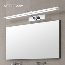 NEO Gleam Mirror light led bathroom wall lamp mirror glass waterproof anti-fog brief modern stainless steel cabinet led light 40cm 120cm mirror light led bathroom wall lamp mirror glass waterproof anti fog brief modern aluminum acrylic cabinet led light