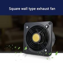 Настенный вентиляции вытяжка Вытяжной вентилятор для Кухня Ванная комната туалет поп воздушного эжектора вентилятор 8 дюймов 200 мм