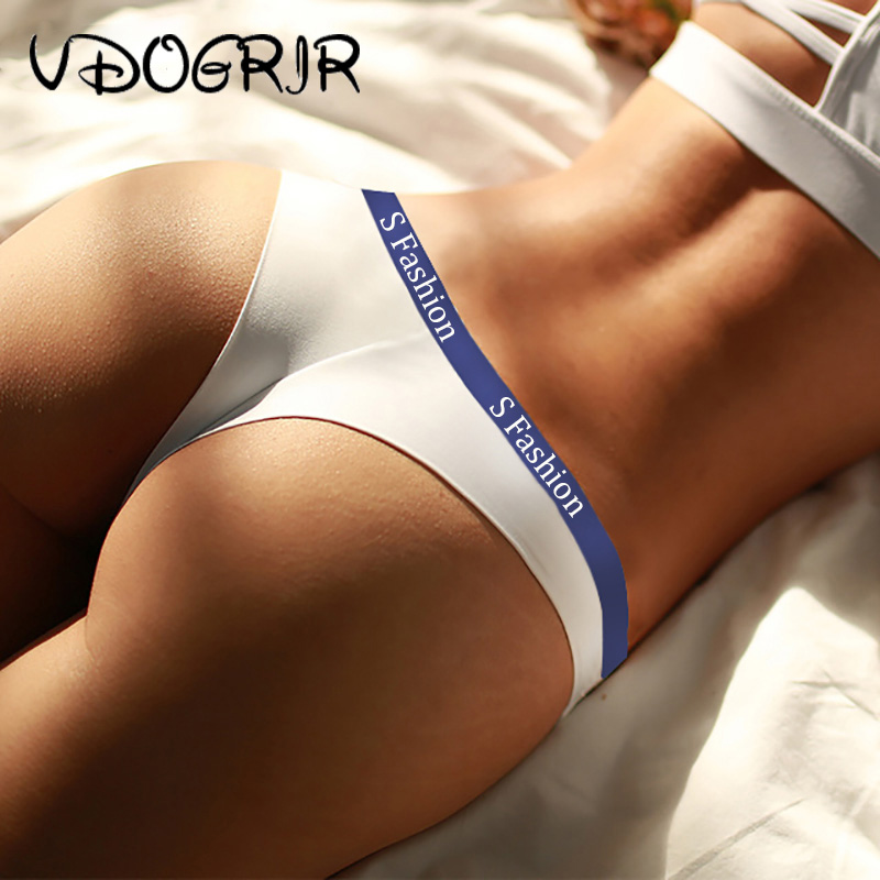 VDOGRIR Cotton Women G-String Seamless Underwear Sexy Women Thongs Female Soft   Panties   Low Waist String Lady Intimates Tangas
