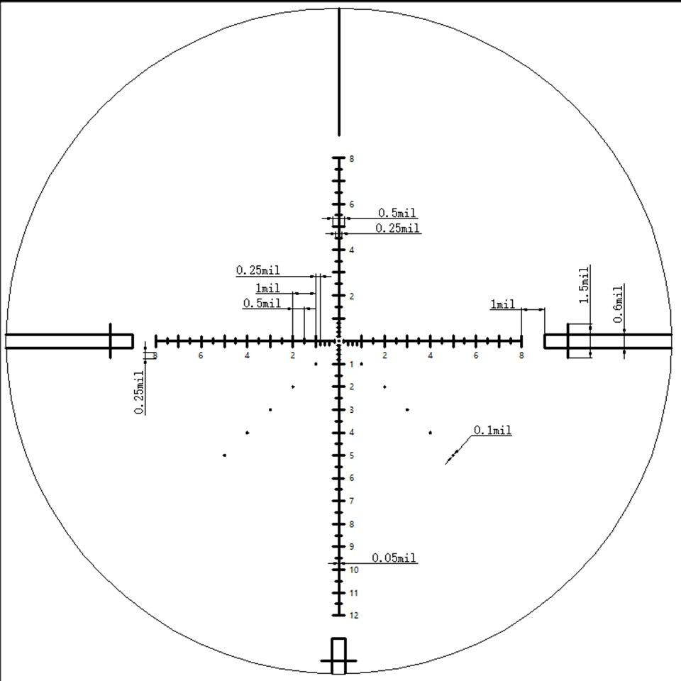 Discovery Outdoor optics HD 4-20X50SFIR FFP First Focal Plane Hunting Tactical Shooting riflescope Illumination rifle scope Pakistan