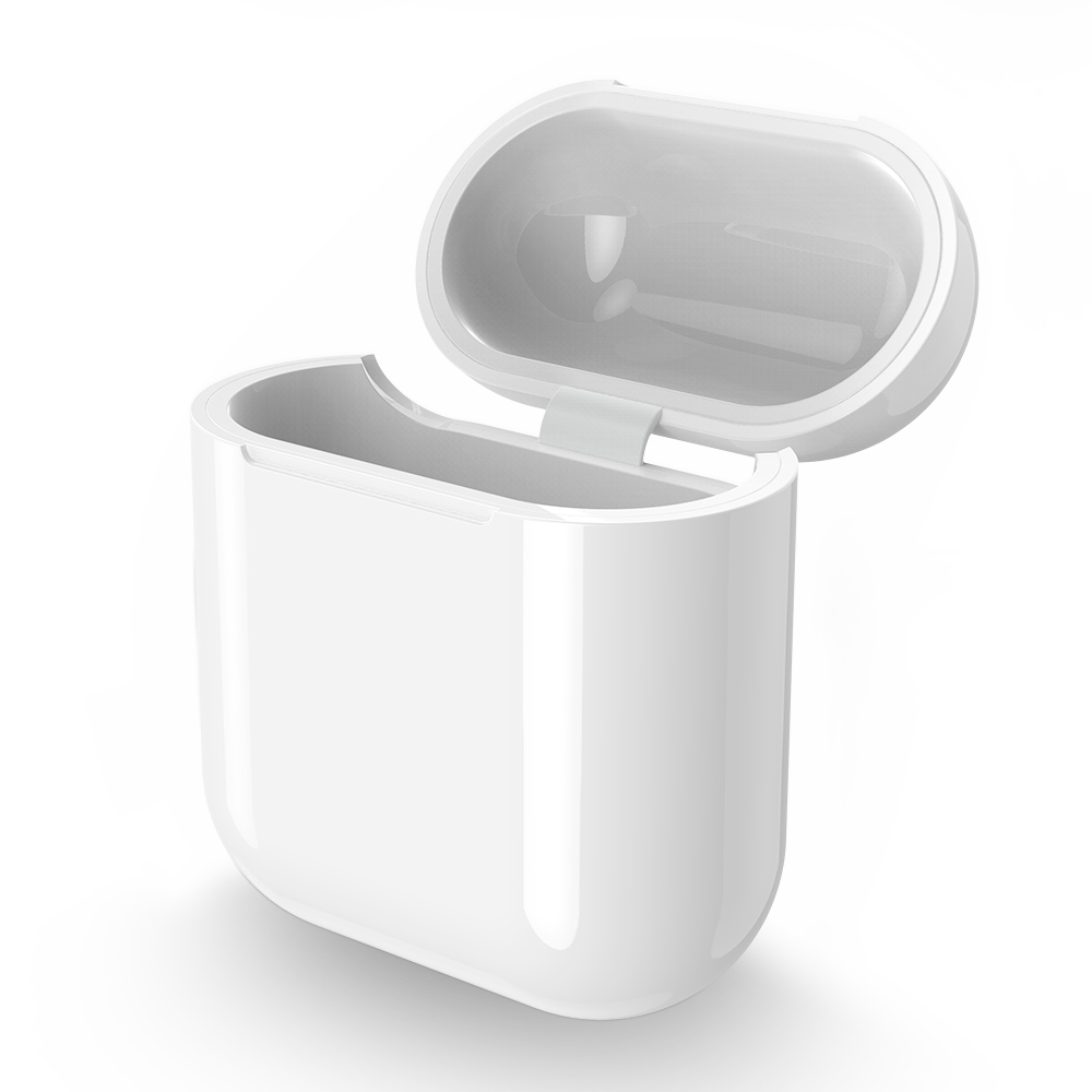 Qi Wireless Charging Receiver Case for Apple AirPods 1 2 Bluetooth Headset Wireless Charger Protective Hard Cover Box in Mobile Phone Chargers from Cellphones Telecommunications