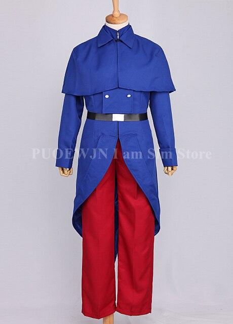 Anime Hetalia Axis Powers France Uniform Cosplay Costume Halloween