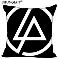 Custom Square Pillowcase Linkin Park soft 60x60cm (Two Sides) Pillow Cover Zippered 1pcs Custom Pillow Cover More Size|Pillow Case| |  -