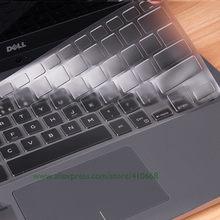 Para dell xps 13 9343 9350 9360 9365 9370 9380 13.3 polegada/xps 15 9570 9560 teclado capa tpu teclado portátil protetor pele